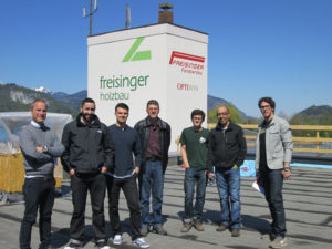 Freisinger Fensterbau company educational trip on Passive House tour 2016